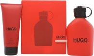 Hugo Boss Hugo Red Set de Regalo 125ml EDT + 100ml Gel de Ducha