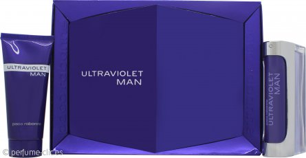 Paco Rabanne Ultraviolet Man Set de Regalo 100ml EDT + 100ml Gel de Ducha