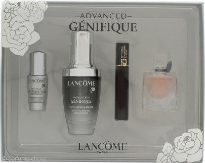 Lancome Genifique Set de Regalo 30ml Serum Avanzado + 4ml La Vie Est Belle EDP + 2ml Hypnôse Rímel + 5ml Génifique Eye Pearl