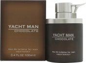 Myrurgia Yacht Man Chocolate Eau de Toilette 100ml Vaporizador