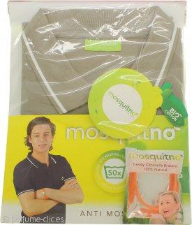 MosquitNo Anti Mosquito Men's Polo Tamaño L - Colores Variados