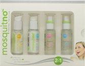 MosquitNo Insect Repellent Set de Regalo 30ml Crema Protección Solar + 30ml After Sun Loción + 30ml Fragancia para Él + 30ml Fragancia para Ella
