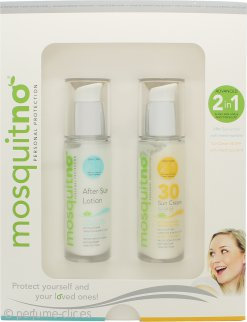 MosquitNo Insect Repellent Set de Regalo 50ml Crema Protección Solar FPS30 + 50ml Loción After Sun