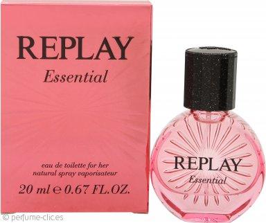 Replay Essential for Her Eau de Toilette 20ml Vaporizador