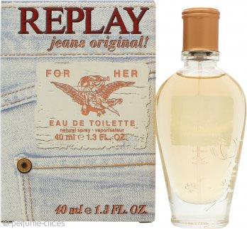 Replay Jeans Original for Her Eau de Toilette 40ml Vaporizador