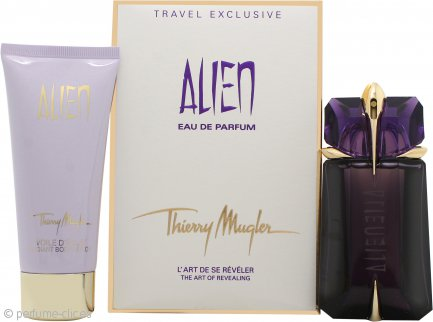 Thierry Mugler Alien Set de Regalo 60ml Vaporizador EDP Rellenable + 100ml Loción Corporal