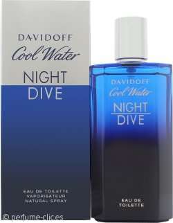 Davidoff Cool Water Night Dive Eau de Toilette 125ml Vaporizador