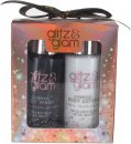Style & Grace Glitz & Glam Mini Glow Set de Regalo 100ml Loción Corporal + 100ml Gel Corporal + 15g Flor de Ducha