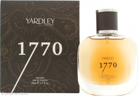 Yardley 1770 Eau de Toilette 50ml Vaporizador