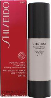 Shiseido Radiant Lifting Base 30ml FPS 17 - B100 Very Deep Beige