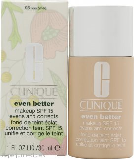 Clinique Even Better Maquillaje FPS15 30ml - 03 Ivory