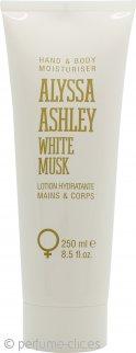 Alyssa Ashley White Musk Hidratante Corporal y de Manos 250ml
