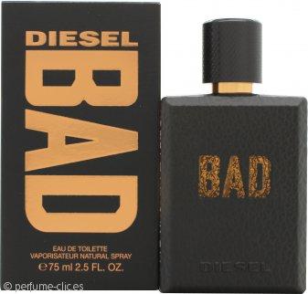 Diesel Bad Eau de Toilette 75ml Vaporizador