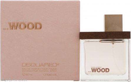 DSquared2 She Wood Eau de Parfum 50ml Vaporizador