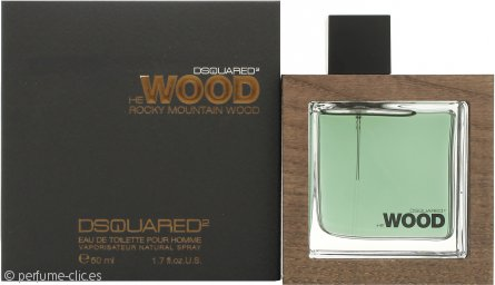 DSquared2 Rocky Mountain Wood Eau de Toilette 50ml Vaporizador