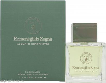 Ermenegildo Zegna Acqua di Bergamotto Eau de Toilette 100ml Vaporizador