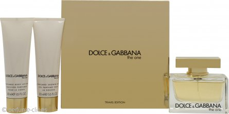 Dolce & Gabbana The One Set de Regalo 75ml EDP + 50ml Loción Corporal + 50ml Gel de Ducha