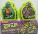 Teenage Mutant Ninja Turtles 4 Day Set de Regalo 4 x 50ml Gel de Baño y Ducha