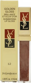 Yves Saint Laurent Golden Gloss Shimmering Brillo Labial 6ml - 12 Golden Cinnamon
