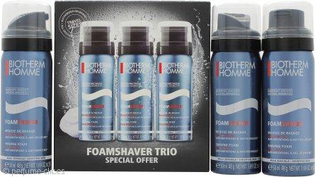 Biotherm Homme Set de Regalo 3 x 50ml Espuma de Afeitar