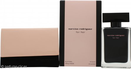 Narciso Rodriguez Narciso Rodriguez For Her Set de Regalo 50ml EDT + Mini Pouch