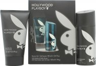Playboy Hollywood Set de Regalo 150ml Gel de Ducha + 150ml Desodorante en Vaporizador