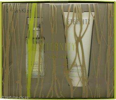 Calvin Klein Eternity Gift Set 30ml EDP + 100ml Gel de ducha