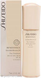 Shiseido Benefiance Wrinkle Resist 24 Emulsión de Día SPF18 75ml