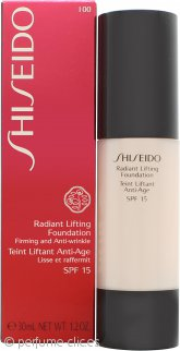 Shiseido Radiant Lifting Maquillaje 30ml SPF15 - I00 Very Light Ivory