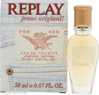 Replay Jeans Original for Her Eau de Toilette 20ml Vaporizador