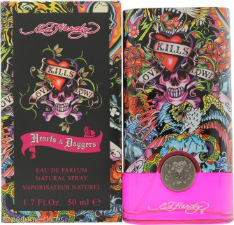 Ed Hardy Hearts & Daggers Eau de Parfum 50ml Vaporizador