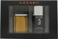 Azzaro Pour Homme Set de Regalo 50ml EDT + 75ml Desodorante de Barra