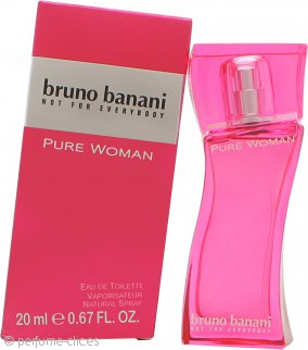 Bruno Banani Pure Woman Eau de Toilette 20ml Vaporizador
