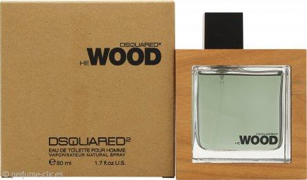 DSquared2 He Wood Eau de Toilette 50ml Vaporizador