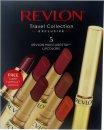 Revlon Moisturestay Lipcolors Set de Regalo 1.7g 5 x Barra de Labios (Buff - Toffee - Dusk - Violet - Crimson) + Barra de Labios Super Lustrous
