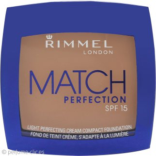 Rimmel Match Perfection Maquillaje Compacto - Light Porcelain