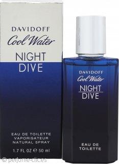 Davidoff Cool Water Night Dive Eau de Toilette 50ml Vaporizador
