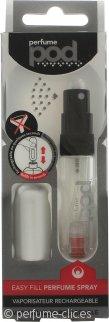 perfumepod Refillable Perfume Atomizador 5ml - Silver