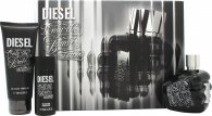 Diesel Only the Brave Tattoo Set de Regalo 75ml EDT + 50ml Gel de ducha + 100ml Gel de ducha
