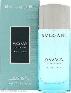 Bvlgari Aqua Marine Eau De Toilette 30ml Vaporizador