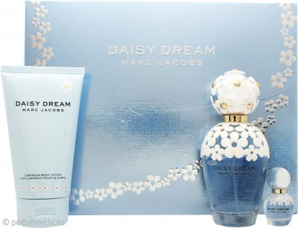 Marc Jacobs Daisy Dream Gift Set 100ml EDT + 150ml Loción Corporal + 4ml EDT
