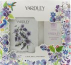 Yardley English Lavender Set de Regalo 200g Talco Perfumado + 100g Jabón Perfumado