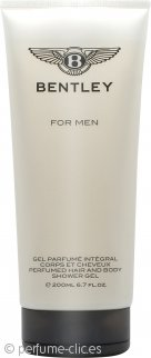 Bentley For Men Gel 2 en 1 para Cuerpo y Pelo 200ml