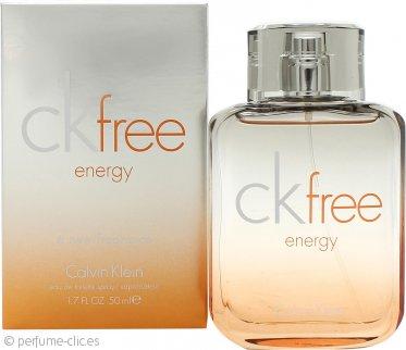 Calvin Klein Free Energy Eau de Toilette 50ml Vaporizador