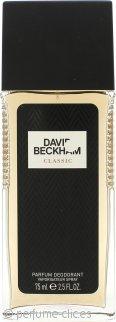 David Beckham Classic Desodorante Vaporizador 75ml