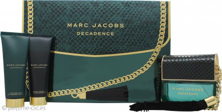 Marc Jacobs Decadence Set de Regalo 100ml EDP + 75ml Loción Corporal + 75ml Gel de ducha