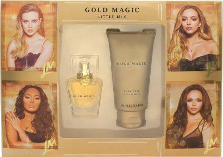 Little Mix Gold Magic Set de Regalo 30ml EDP + 75ml Gel Corporal