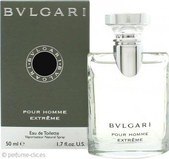 Bvlgary Pour Homme Extreme Eau de Toilette 50ml Vaporizador