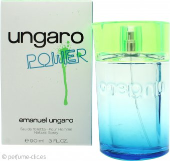 Emanuel Ungaro Power Eau de Toilette 90ml Vaporizador