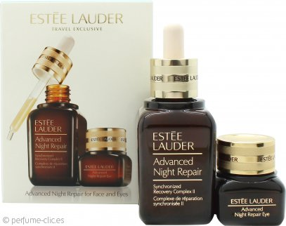 Estee Lauder Advanced Night Repair Face & Eyes Skincare Set de Regalo 50ml Serum + 15ml Crema Gel Ojos